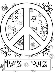 E volete imparare, Insegnare. Pace Lavorato Love Coloring Pages, Free Adult Coloring Pages, Coloring Sheets, Coloring Books, Flower Power Party, Peace Crafts, Woodstock, Baby Drawing, Hippie Art