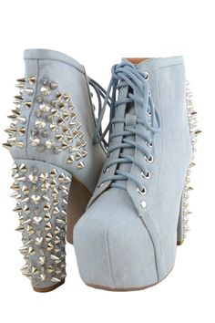 Studded Shoes.