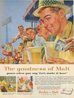 Vintage Beer Ads