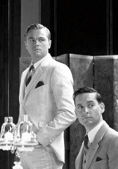 Leonardo DiCaprio and Tobey Maguire | The Great Gatsby