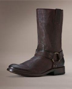 Frye Men's Jackson Harness Boot - Dark Brown