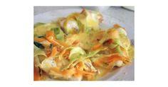 Blancs de poulet aux tagliatelles de carottes et courgettes
