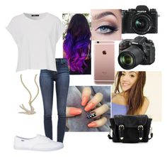 """Cruz (2)"" by andyspinja on Polyvore featuring Fuji, Ippolita, J Brand, Nikon and Poverty Flats"