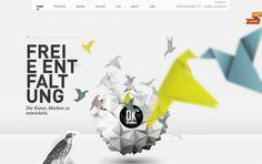web design trend : parallax scrolling