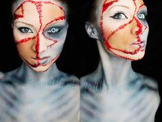 MadeULook by Lex - Demon makeup! Facebook.com/madeulookbylex, youtube.com/madeyewlook