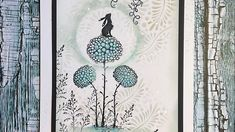 Lavinia Stamps, Card Making Tutorials, Scrapbooking, Birthday Cards, Stencils, Delicate, Paper Crafts, Tapestry, Fairies