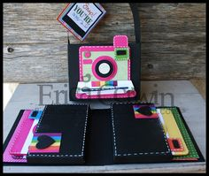 Oh, Snap! Camera themed card gift set. Tutorial available!