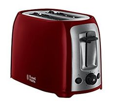 Russell Hobbs Darwin 2-Slice Toaster 23861 - Red: Amazon.co.uk: Kitchen & Home
