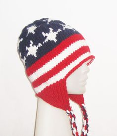 Hey, I found this really awesome Etsy listing at https://www.etsy.com/listing/82289675/us-american-flag-accessory-woman-hat
