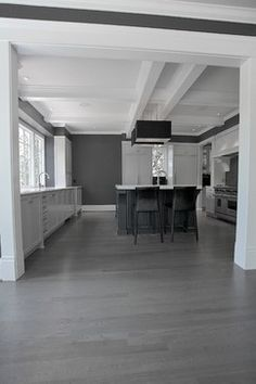 Design in Mind: Gray Hardwood Floors | Coats Homes