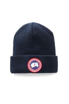 5f81b1dd4d644 Canada Goose Men s Arctic Disc Toque Canada Goose Logo