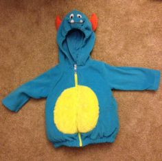 Check out this listing on Kidizen: Monster Halloween Costume 12mo #shopkidizen