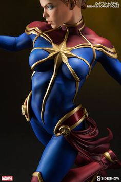 Captain Marvel Premium Format Figure by Sideshow Collectibles