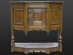Late Elizabethan joined buffet, 16th century, Marhamchurch antiques