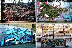 Cellograff. A cool, temporary way to do graffiti. Sweet idea for #DIYcity.