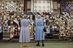 Kutztown Folk Festival quilt barn- over 2000 handcrafted quilts for sale & auction