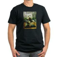 westie on swing T-Shirt > West Highland White Terrier > Paw Prints 5