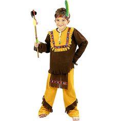 Disfraz de Indio Marron #disfraces #infantil #carnaval
