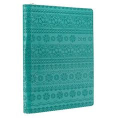 2015 Turquoise 18 Month Zippered Inspirational Daily Planner - Psalm 36:5  Price : $19.99 http://www.veritasgifts.com/Turquoise-Month-Zippered-Inspirational-Planner/dp/B00LPPXNZI