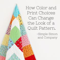 Color and Print Choices for Quilting