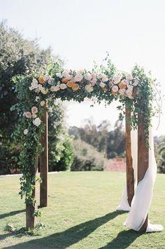 creative wedding chuppah and arch ideas