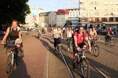 Critical Mass Bratislava by vera kisel, via Flickr Bratislava, Cycling, Street View, Biking, Bicycling, Ride A Bike