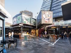 shipping container mall | ... shipping containers on top of a fancy shopping mall in istanbul to