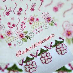 Çeyizlik çiçekli iğne oyası havlu #crochet #örgü #havlu #lifmodelleri #needle #iğneoyası #iğneoyaları #havlukenarları