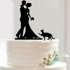 Cheap cake fondant, Buy Quality cake topper figurine directly from China topper Suppliers: Pretty Bride and Groom cat Cake Toppers Couple Wedding Romantic Cake Topper for Wedding Cake Decorative Accessories
