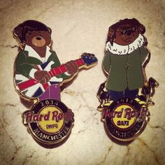 NEW PIN ALERT: Say hello to our latest additions to our pin collection – the Britpop bears! Now available in the Rock Shop for £8.95 each. #ShowUsYourPin