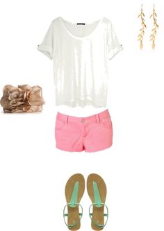 Summer, created by clairelake on Polyvore
