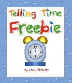 Telling Time - this is a skill one of my clients with IDD wants to work on.