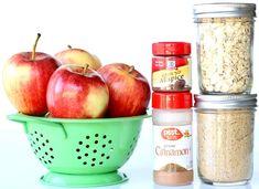 Crockpot Baked Apples Recipe! {Just 6 Ingredients} - The Frugal Girls Apple Crockpot Recipes, Crockpot Baked Apples, Apple Recipes Easy, Fall Recipes, Cooking Recipes, Apple Snacks, Apple Desserts, Fall Desserts, Apple Crumb Pie