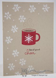 Scentsational Season, Endless Wishes -- The Crafty Owl's Blog | Winter Hot Chocolate for Less Is More