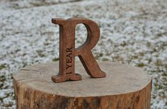 SALE Personalized Free Standing Wooden Letter for Christmas Gifts, Nursery, Baby Shower, Weddings, Home Decor Kid's Room Black Friday Wooden Letters For Nursery, Baby Name Letters, Wood Letters, Abc Baby Shower, Baby Shower Gifts, Personalized Christmas Gifts, Personalized Wedding Gifts, Kids Blocks, Baby Accessoires