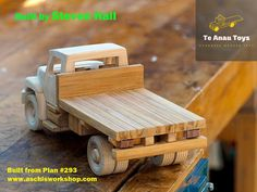 Handmade Wooden Toys, Wooden Baby Toys, Wooden Diy, Cardboard Car, Wooden Toy Trucks, Workshop Plans, Wood Toys Plans, Childhood Toys, Diy Toys