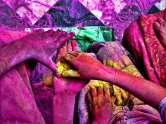 Holi Festival Photograph by Ratan Sonal, Your Shot  India's Holi Festival is celebrated with bursts of color in the form of powdered dyes. The colorful celebration is observed by Hindus in the springtime.