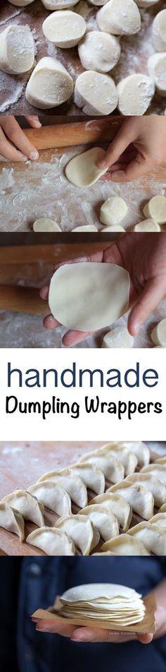Dumpling Wrappers #homemade | ChinaSichuanFood.com