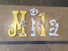 decoracin cuarto de nios vivero decoracin de la pared letras infantiles letras de vivero beb chica vivero cartas letras de pared del cuarto de