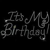 Hot Fix Motif Its My Birthday