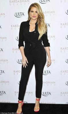 Feeling fit: The blonde-haired beauty has been flaunting her fabulous physique in recent m...