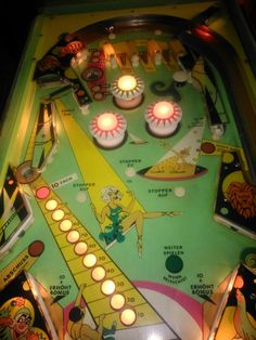Bally Hoo Pinball Wizard, Penny Arcade, All The Way, The Past, Childhood, Lights, Games, Artwork, Vintage
