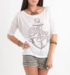 Gosh, I love this Anchor shirt! <3