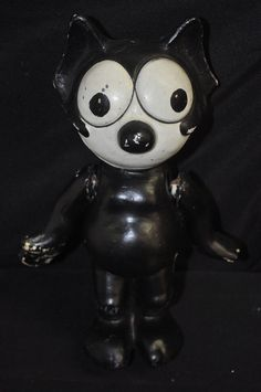"Felix The Cat 13"" Jointed Doll (1920's)"