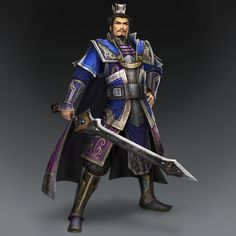 Cao Cao & Weapon (Wei Forces)