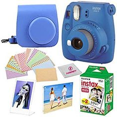 Fujifilm Instax Mini 9 Instant Camera, Flamingo Pink: Amazon.ca: Camera & Photo Fuji Camera, Camera Case, Fuji Instax Mini, Fujifilm Instax Mini, Mini Picture Frames, Mini Magnets, Bright Pictures, Mini 8, Instant Camera