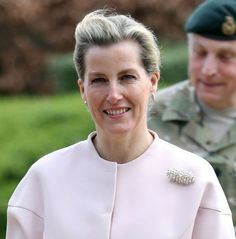 Sophie, Countess of Wessex visiting the Army Headquarters - 23.03.17