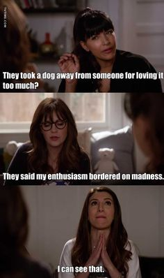 by Fanny 🎈 about New Girl, Season 07 Episode 06 New Girl Memes, New Girl Funny, Tv Show Quotes, Movie Quotes, New Girl Nick And Jess, New Girl Tv Show, Zoey Deschanel, Quirky Girl, Jessica Day