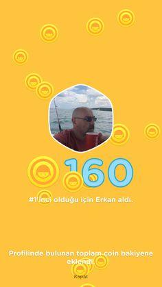 Swarm liderlik sıralamasında 1. olarak 160 bonus coin kazandım