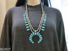 EMMA-LINCOLN-NAVAJO-SLEEPING-BEAUTY-TURQUOISE-SQUASH-BLOSSOM-SIGNED-SATIN-BEADS